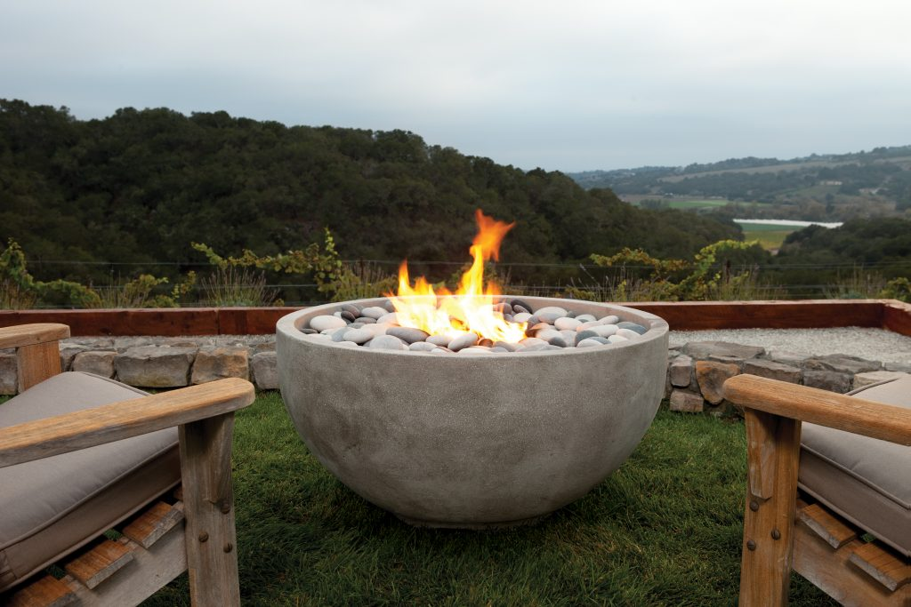 Kindred outdoor living fire bowls