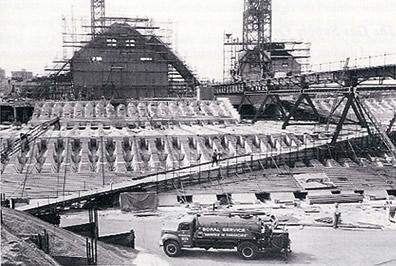 Sydney Opera House under construction